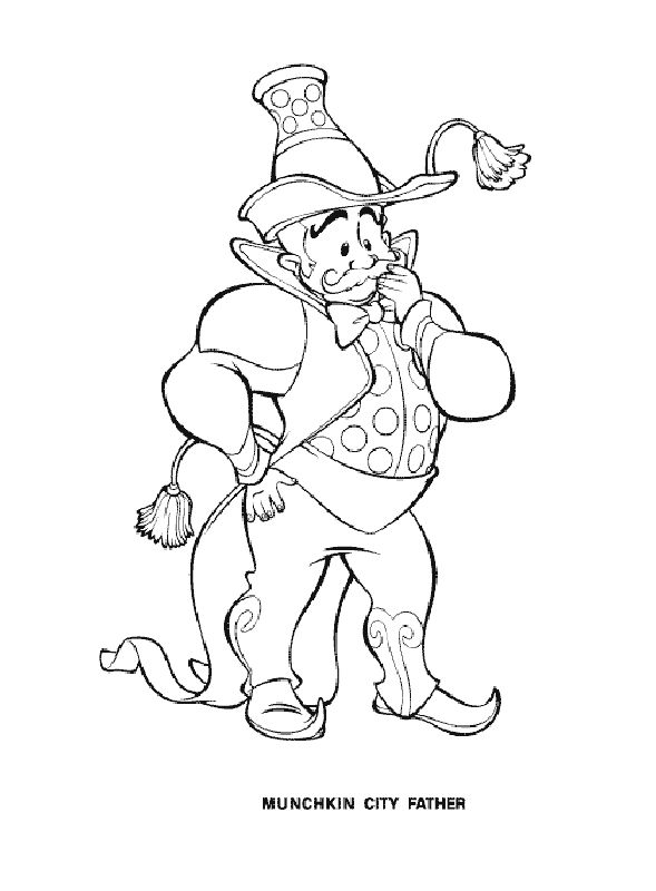 wizard of oz printables | admin may 30 2013 wizard of oz 568 views wizard of oz coloring pages 7 ...