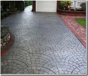 suelos exterior fotos chidas concreto estampado asador casas bonitas rejas cemento paisajismo