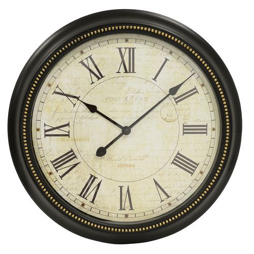 Found it at Joss & Main - Rex Round Oversized Wall Clock