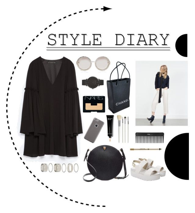 Başlıksız #41 by afitabiyigun on Polyvore featuring polyvore, fashion, style, Zara, Windsor Smith, Valextra, Chanel, Larsson & Jennings, Forever 21, Karen Walker, Case-Mate, NARS Cosmetics, Bobbi Brown Cosmetics, Anastasia Beverly Hills, Sephora Collection, Cath Kidston and clothing