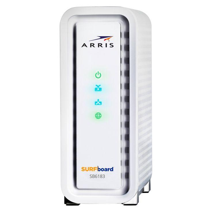 ARRIS SURFboard SB6183 DOCSIS 3.0 Cable Modem - 600 MHz Dual-Thread Processor