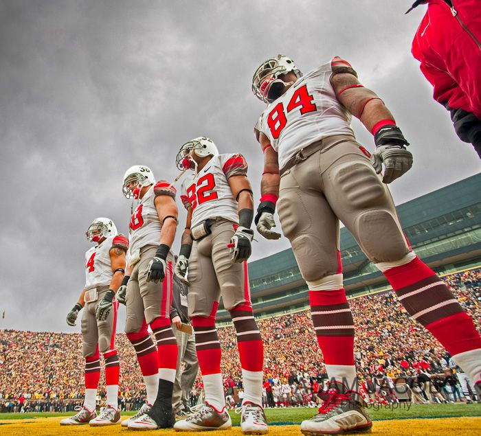 21 November 2009: Ohio State take on Michigan at the Big House.
