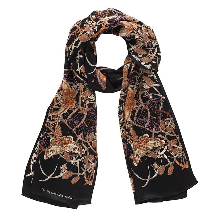 Japanese Butterfly Scarf - The Met Store