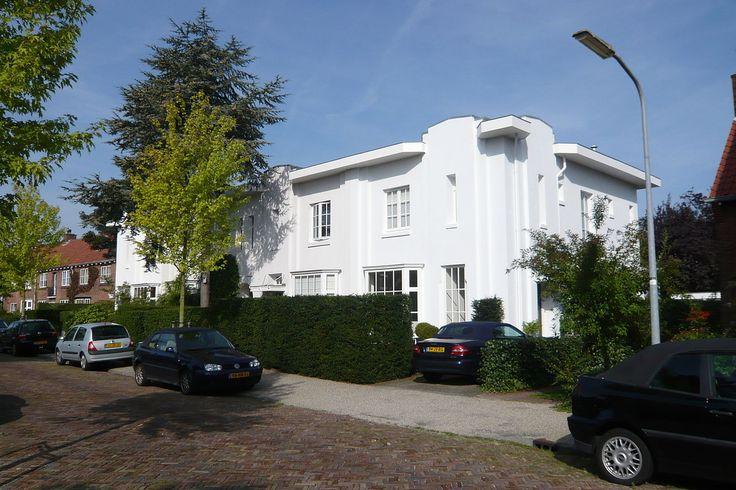 Zuiderhout: blok van vier herenhuizen