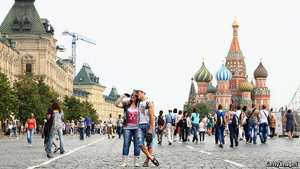 Misanthropic Moscow: The world's most unfriendly cities | The Economist