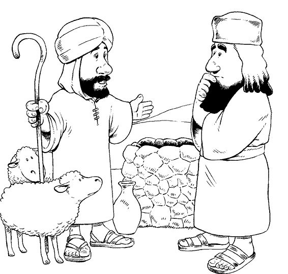 abraham coloring pages and crafts - photo#20