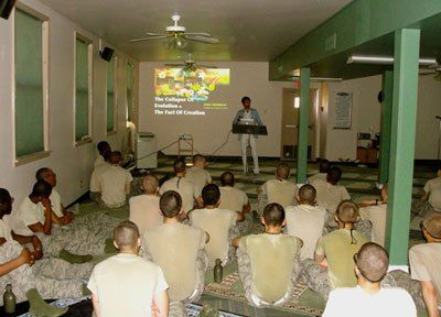 MUSLIM  RECRUITING  STATION  ON  LACKLAND  AIR FORCE BASE.  But the Pentagon May Court Martial Soldiers Who Share CHRISTIAN Faith.... 8/28/13