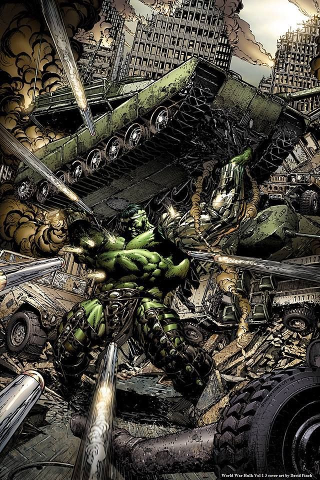 World War Hulk Vol.1 #3 by David Finch *