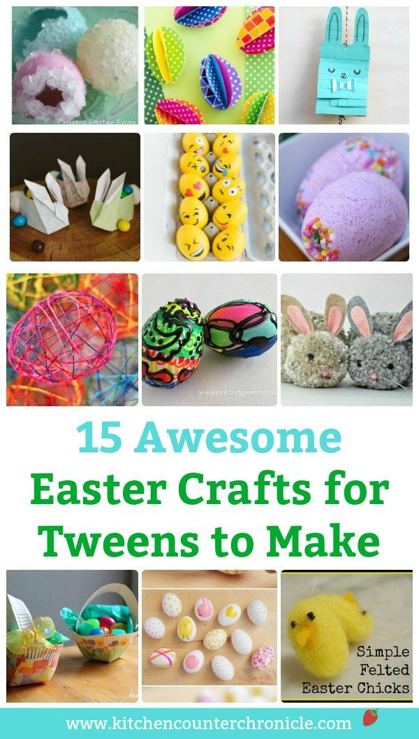 20 Fun Easter Crafts For Tweens And Teens To Make With Images