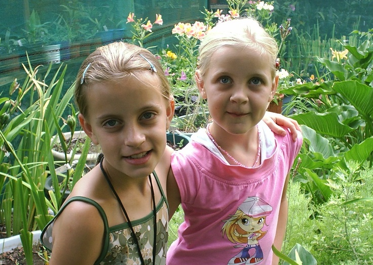 my real little fairies in my garden