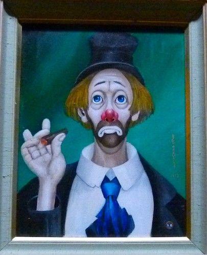 Farmfield Landscape: 81 Best Watercolors Hobo Clown Images On Pinterest