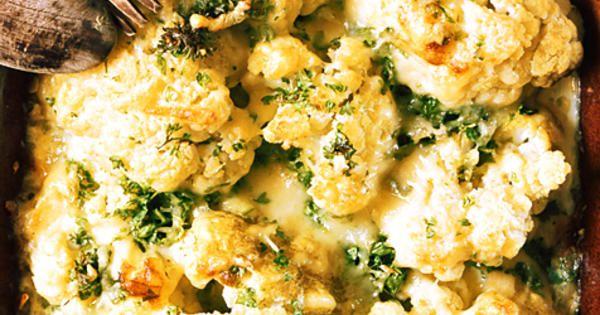 Ostgratinerad blomkål | Recept från Köket.se