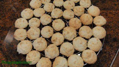 Rezept: Kekse:  KOKOSMAKRONEN