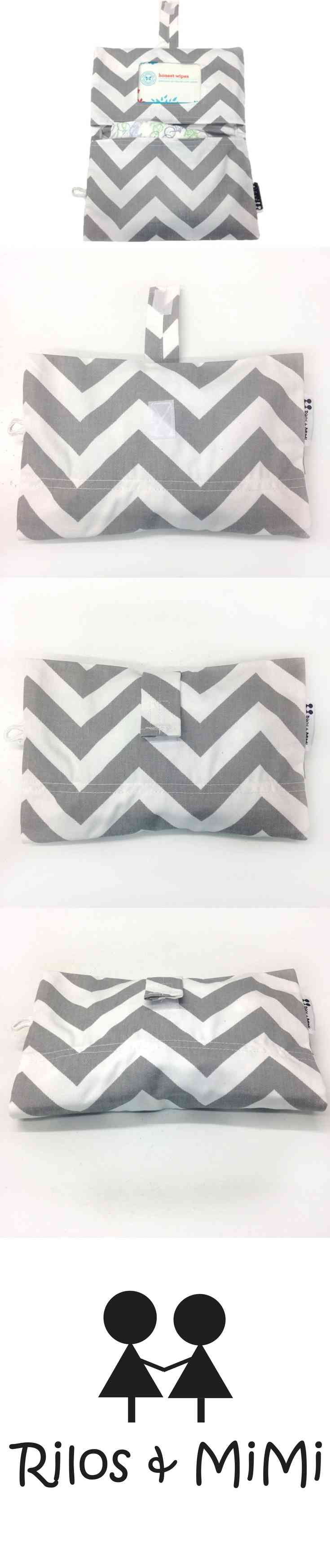 Grey and White Chevron Diaper Clutch  Keep your diapers and wipes organized with a chevron diaper clutch from Rilos & MiMi.  A diaper clutch is a great baby accessory for any parent.  A diaper clutch keeps diapers and wipes organized in your purse, diaper bag, back pack, or vehicle.   Each diaper clutch fits almost every type of travel wipes case (Huggies, Pampers, and (...) (via pushapin.com)