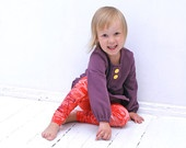 BLACK FRIDAY Etsy Girls long sleeves dress pale purple children clothing  Size 3-4 years