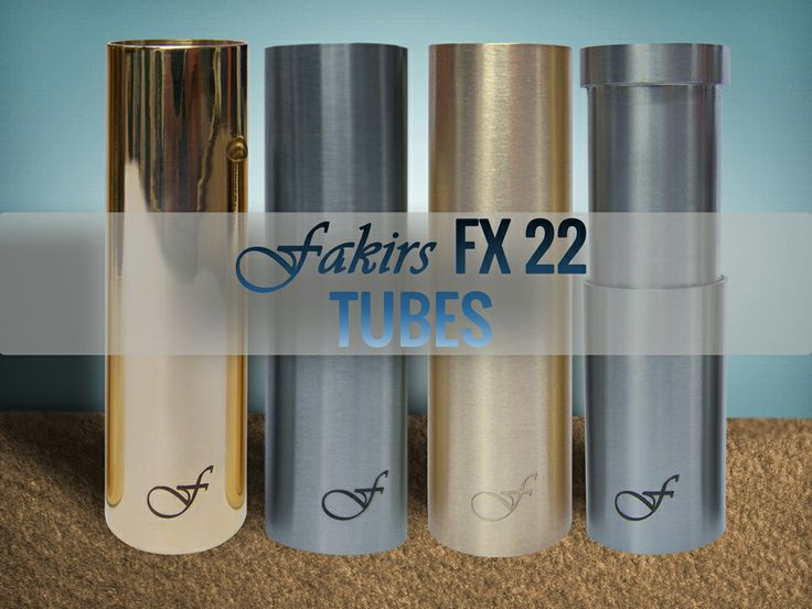 Style and Elegance: Fakirs New 20*1 Threaded Tubes. Brass, Brass Satina, Stainless Steel and SS Telescope. Compatible with other 20*1 threaded Mod's topcaps and firing buttons. #vaper #vapors #ecigs #smoking #vapes