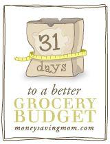 Love to save money!: Budget Grocery, Save Money, Budget Idea, Grocery Budget, Money Save, Good Idea, Better Budget, Moneysavingmom Com, Frugal Living Tips