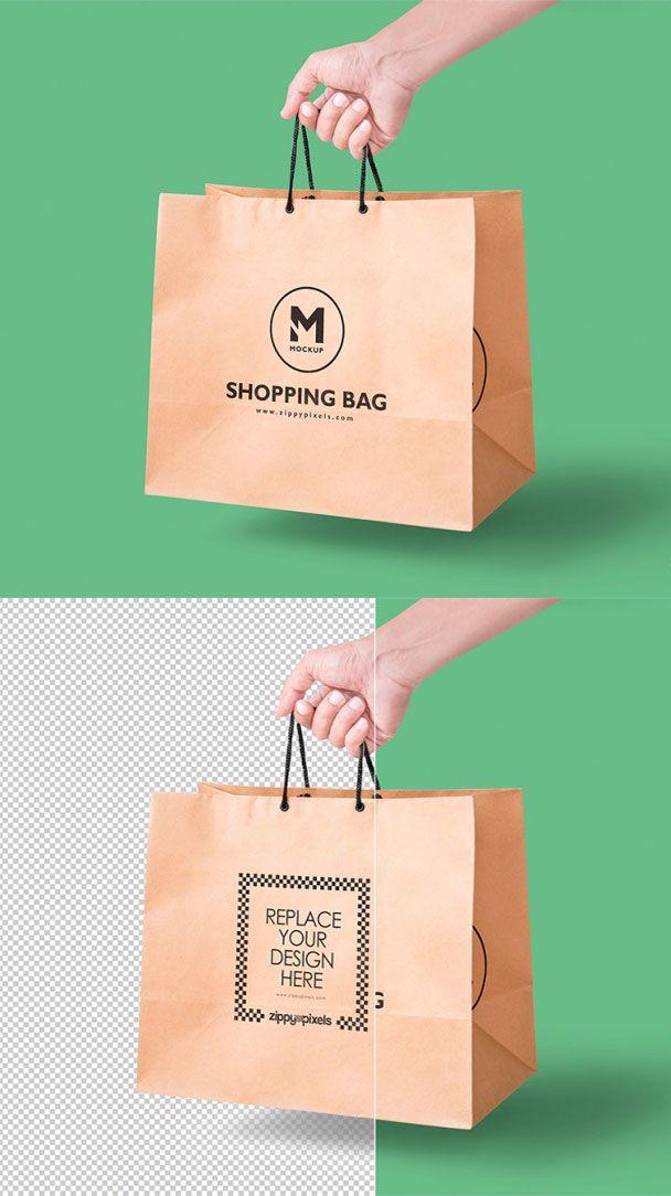 Download Handheld Paper Bag Mockup Bag Mockup Mockup Free Psd Mockup Template