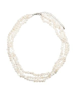 Pearl Twisted Necklace | Woolworths.co.za