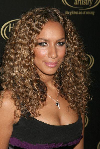 leona lewis curly hair - photo #7