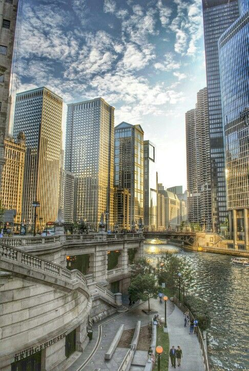 Gold on Chicago | by matteo turati