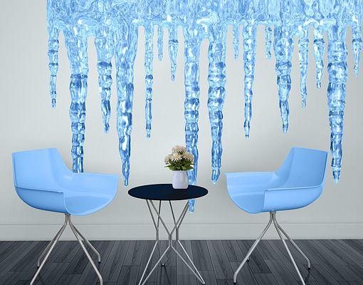 Elegant WandTattoo Eiszapfen WandSticker Mehrfarbig