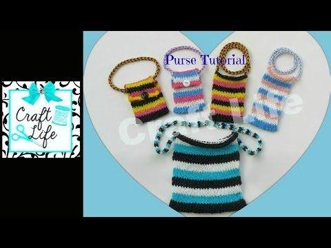 Craft Life Purse Tutorial on One Rainbow Loom - YouTube