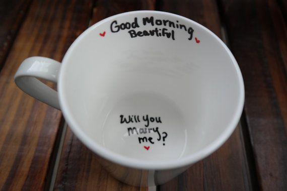 Will You Marry Me Mug- Unique Proposal Ideas, Marry Me, Moving Away, Long Distance Relationship, Graduation, Army, New Job