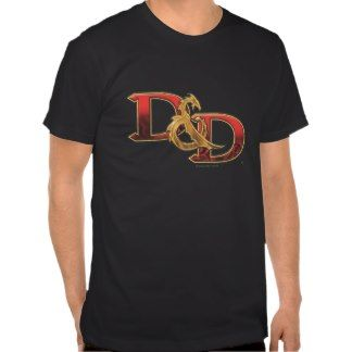 D&D Full Color T Shirts