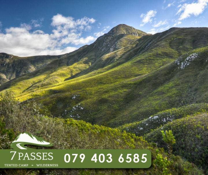 Say #goodbye for the week, while enjoying the beautiful #OuteniquaMountains at our stunning #Safari tents at #7Passes. To book your accommodation, contact us on 079 403 6585. #rwc2015
