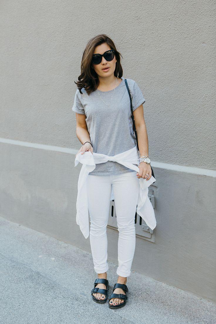 DARIA DARIA | She makes a t-shirt look so chic