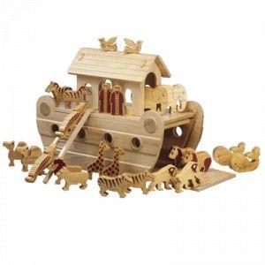 Arche de Noë jouets en bois