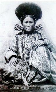 Female Shaman   Shaman: Buyrat Woman.