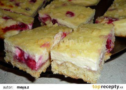 Tvarohové řezy recept - TopRecepty.cz