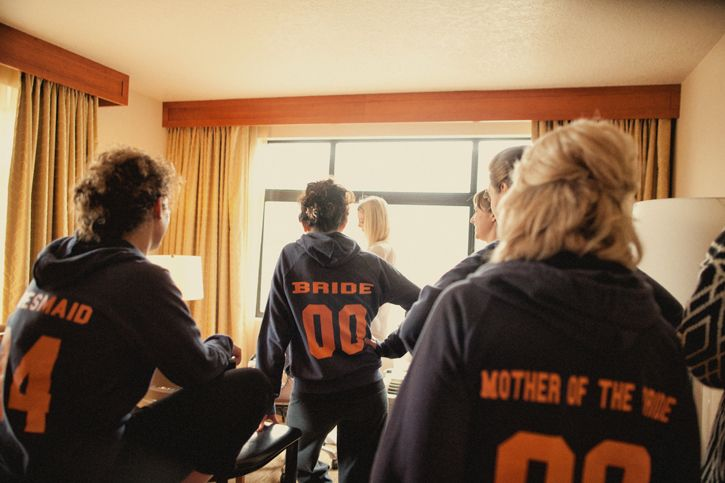 Game day sweats. I love this so much (: