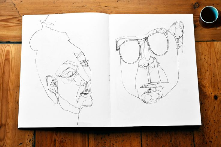 From the sketchbook, Betina Helles