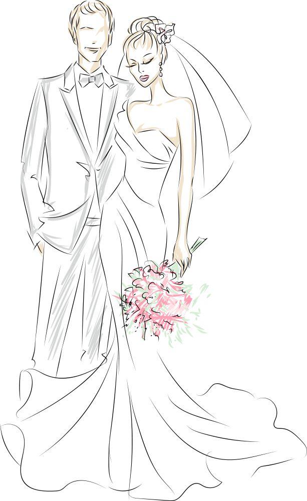 Как нарисовать картинки на свадьбу, хорошего дня картинках