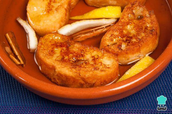 Torrijas De Vino Dulce Y Miel Irresistibles Recipe Food Cooking Delicious Desserts