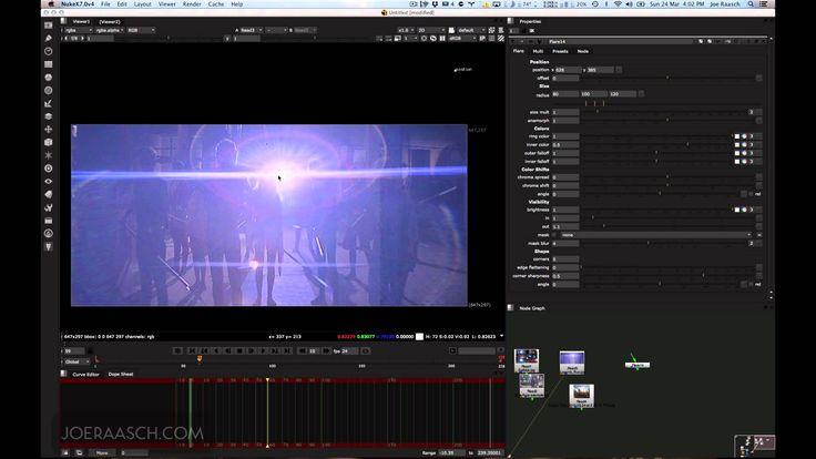 Creating Lens Flares in Nuke