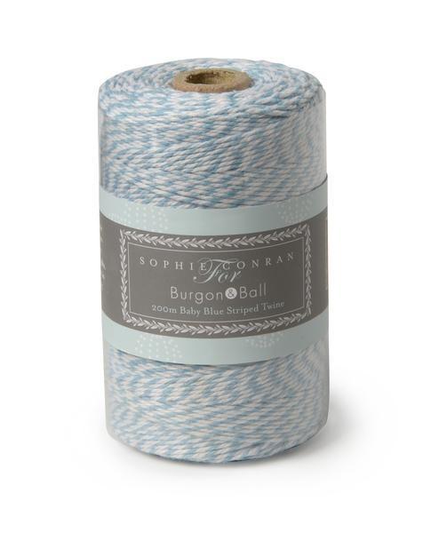 SOPHIE CONRAN  |  Striped Twine - Baby Blue