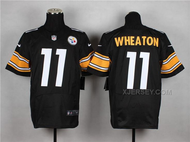 http://www.xjersey.com/nike-steelers-11-wheaton-black-elite-jerseys.html Only$37.00 #NIKE STEELERS 11 W#HEATON BLACK ELITE JERSEYS Free Shipping!
