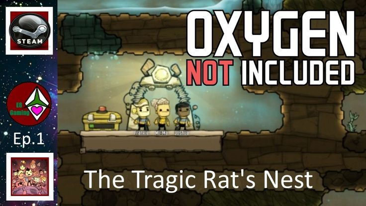 Oxygen Not Included Alpha: Ep.001: The Tragic Rats Nest