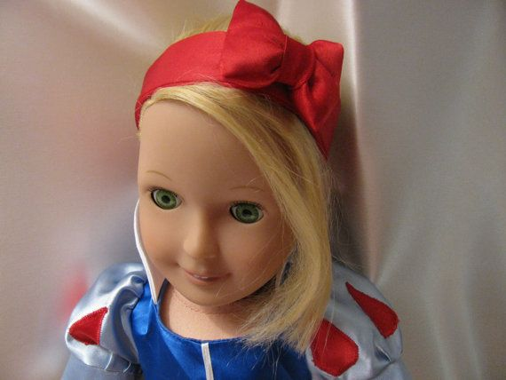 SNOW WHITE. American Girl Doll Clothes similar by SewUniqueByKei