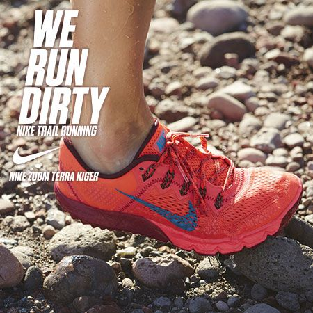 Nike Terra Kiger Trail Running Shoes: made for dirt. If you like minimal, lower profile or lightweight trail shoes - this is a kick for you. Check out our review.