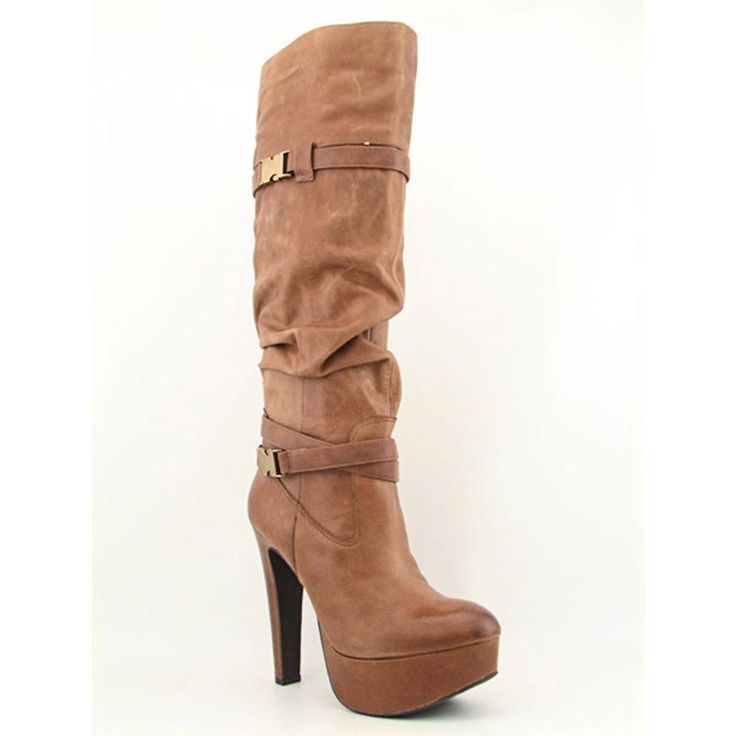 84.99 Brand & Style - Jessica Simpson Alster Width - Medium (B, M)True Color - WhiskeyUpper Material - Leather Outsole Material - Man-Made Heel Height - 5.5 Inches