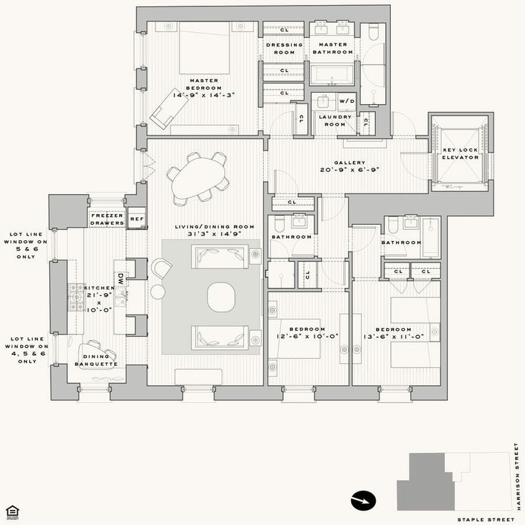591 best images about luxurious apartments on pinterest for Apartment floor plans toronto
