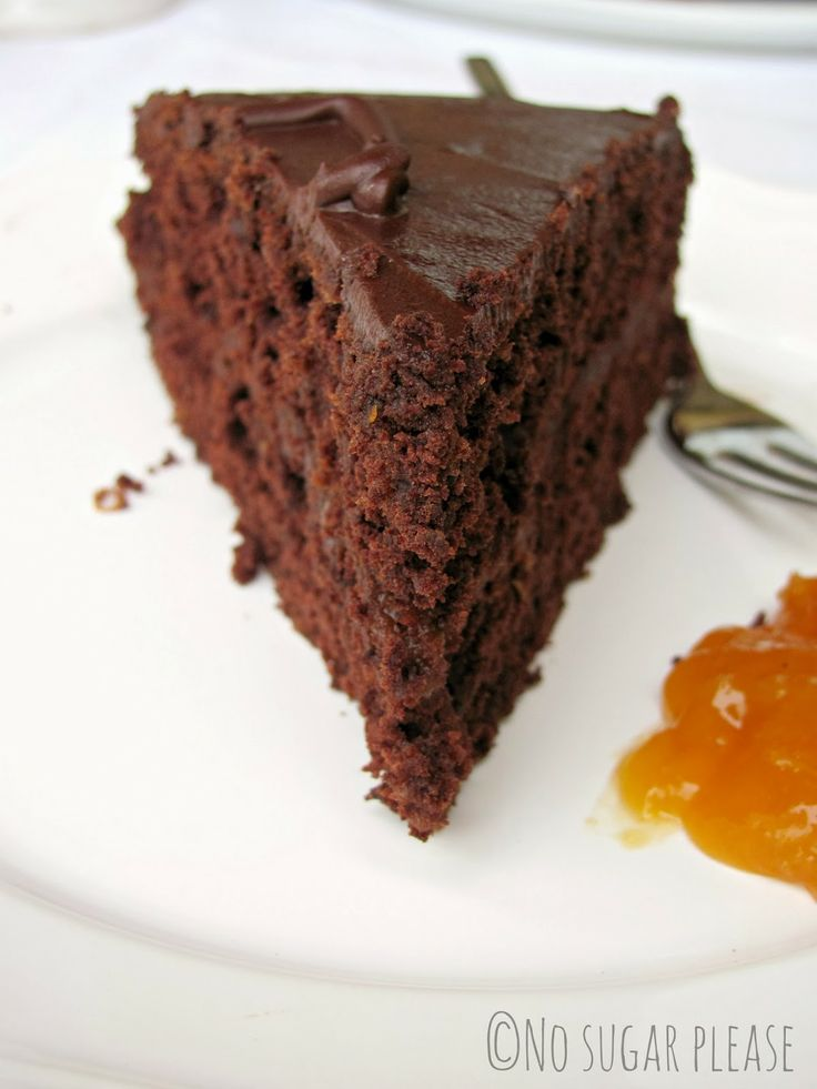 No sugar please...: Sacher vegan