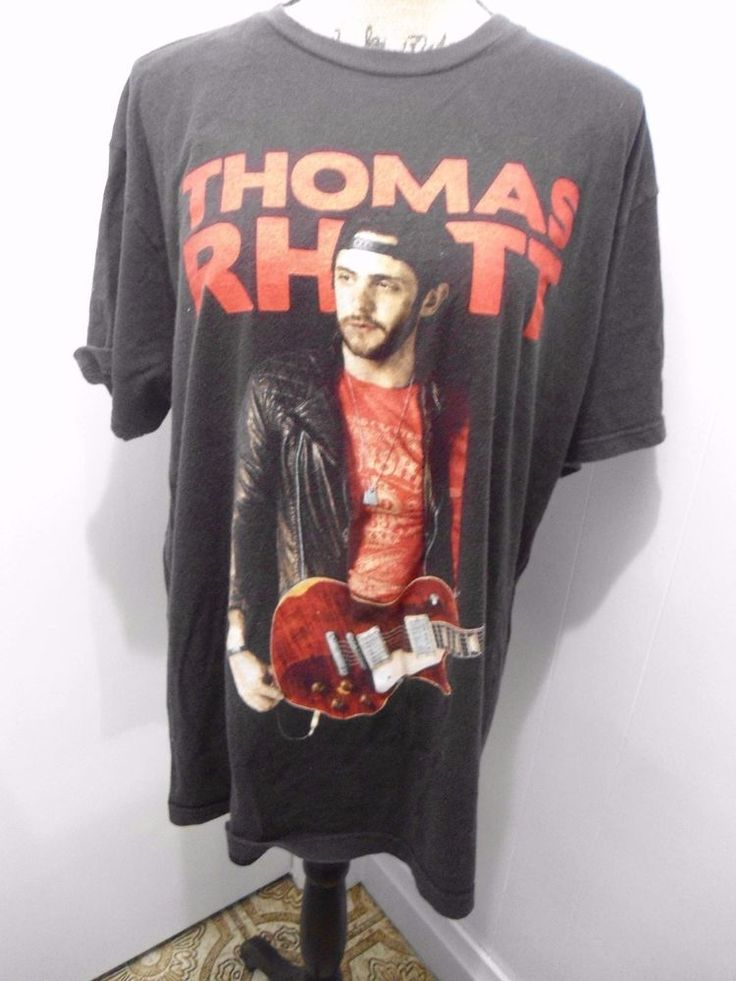 Womens Thomas Rhett Tour Dates 2015 Baby Doll T Shirt - Size XL #Tultex #GraphicTee