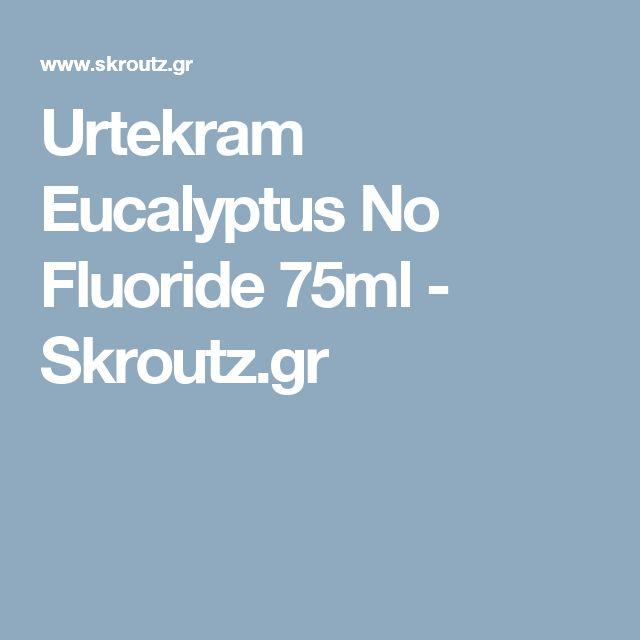 Urtekram Eucalyptus No Fluoride 75ml - Skroutz.gr