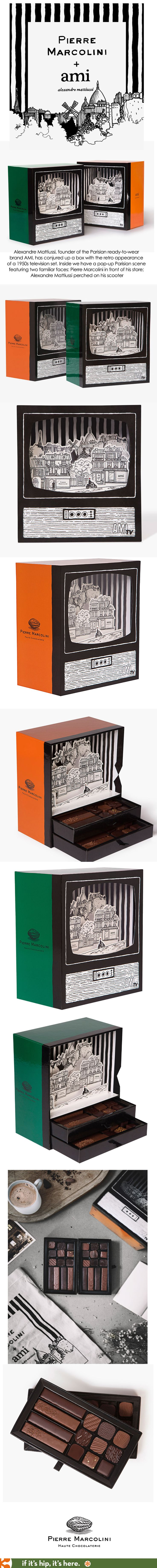 Alexandre Mattiussi and Pierre Marcolini are delighted to announce their…